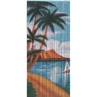 'Palm Beach Serenity' Beaded Curtain (Vietnam)