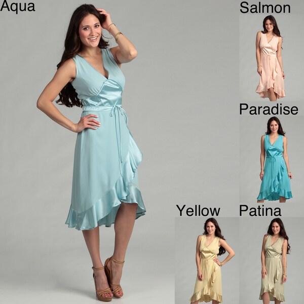Issue New York Women's Texture-blocked Silk Dress