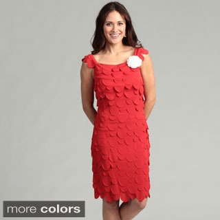 Issue New York Women's Scallop Tiered Dress