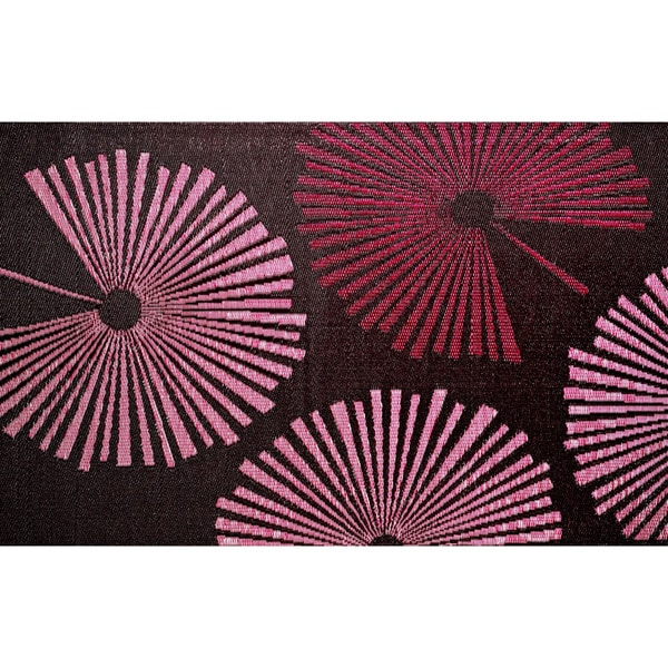b.b.begonia Fantasia Reversible Design Brown and Red Outdoor Area Rug (6' x 9')