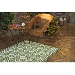 Bali 6' x 9' 'Indoor/Outdoor Reversible Area Mat by b.b.begonia
