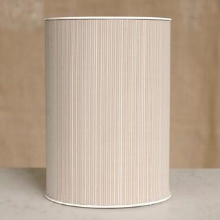1530 LaMont Home Raine Round White / Ivory Wastebasket