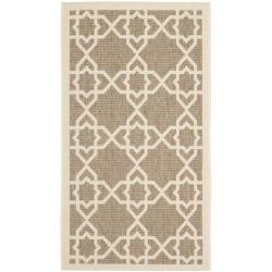 Safavieh Poolside Brown/ Beige Indoor/ Outdoor Rug (2' x 3'7)