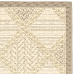 Poolside Beige Indoor/ Outdoor Rug (2'7 x 5')