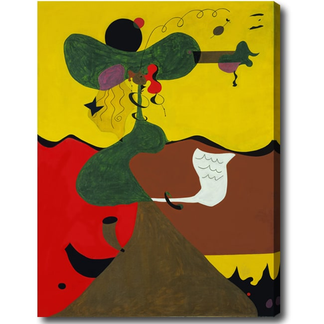 Abstract Oil on Canvas Art