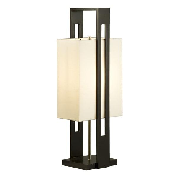 Nova Helsinki Dark BrownTable Lamp