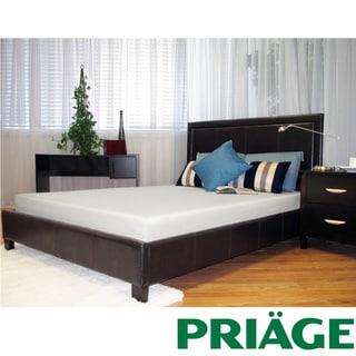 Priage Green Tea/ Charcoal  6-inch Twin-size Memory Foam Mattress