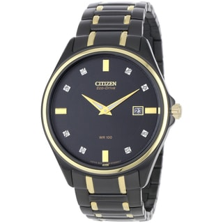 Citizen Men's Eco-Drive Diamond Dress Watch