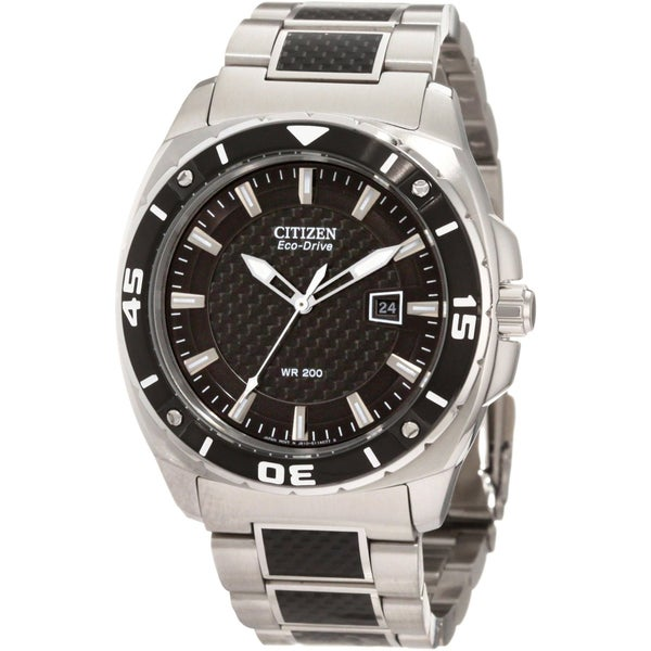 Citizen Men's Eco-Drive Carbon Fiber Watch