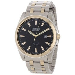 Citizen Men's Eco-Drive Clean-Cut Stainless Steel Watch