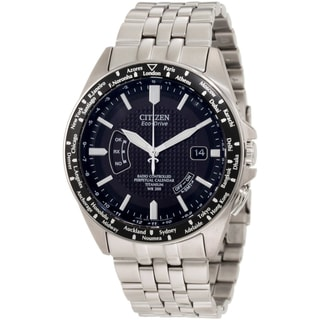 Citizen Men's Eco-Drive Atomic Timekeeping Titanium Watch