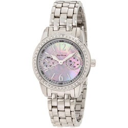 Citizen Women's Eco-Drive Silhouette Water-Resistant Crystal Watch