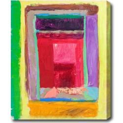 'Windows' Abstract Oil on Canvas Art