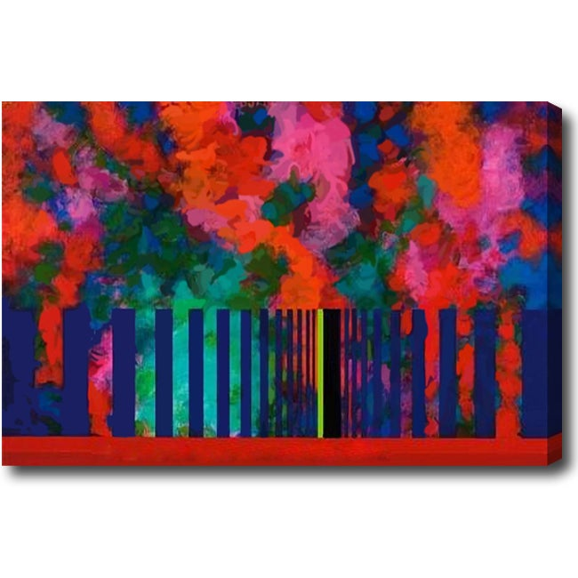 'Wave' Gallery-wrapped Canvas Art