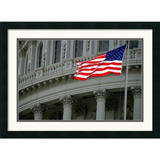 Andy Magee 'Capitol Flag' Framed Art Print