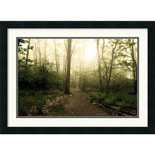 Andy Magee 'Appalachian Trail' Framed Art Landscape Print
