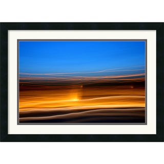 Andy Magee 'Grand Basin 360' Abstract Framed Art Print