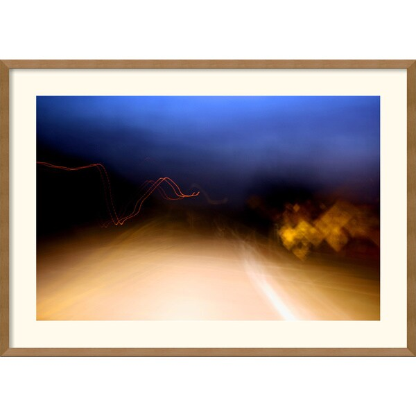 Andy Magee 'Heading Home' Framed Art Print
