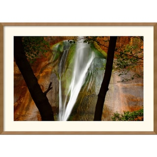 Andy Magee 'Calf Creek Falls' Framed Art Print