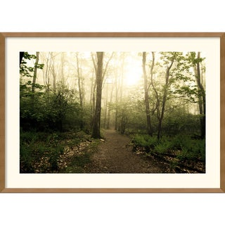 Andy Magee 'Appalachian Trail' Framed Art Print