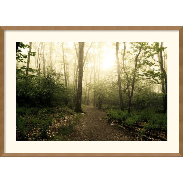 Andy Magee 'Appalachian Trail' Framed Art Print