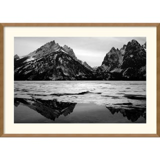 Andy Magee 'Teton Winter' Framed Art Print