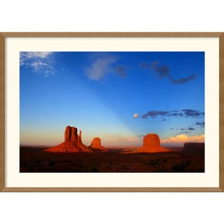 Andy Magee 'Monument Valley Sunset' Framed Art Print