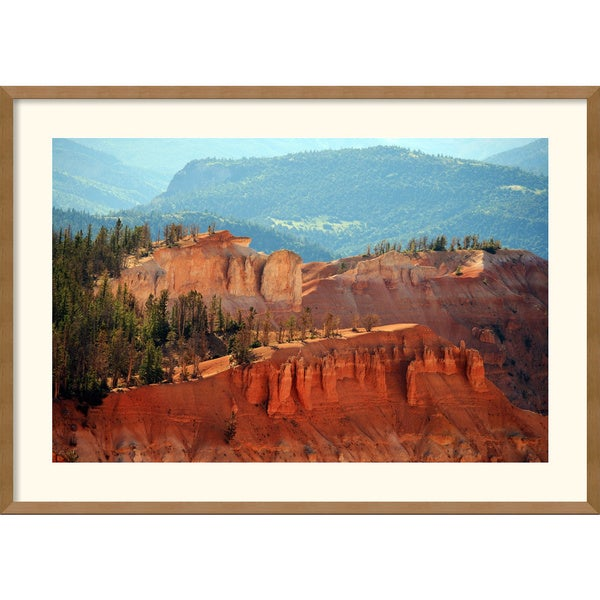 Andy Magee 'Cedar Breaks (Utah)' Framed Art Print