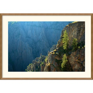 Andy Magee 'Black Canyon Morning' Framed Art Print