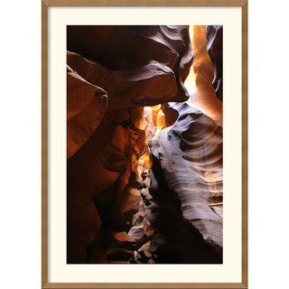 Andy Magee 'Antelope Canyon Lightplay' Framed Art Print