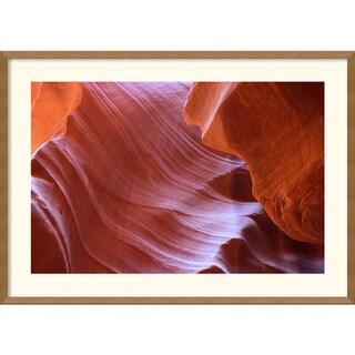 Andy Magee 'Antelope Canyon Abstraction' Medium Framed Art Print