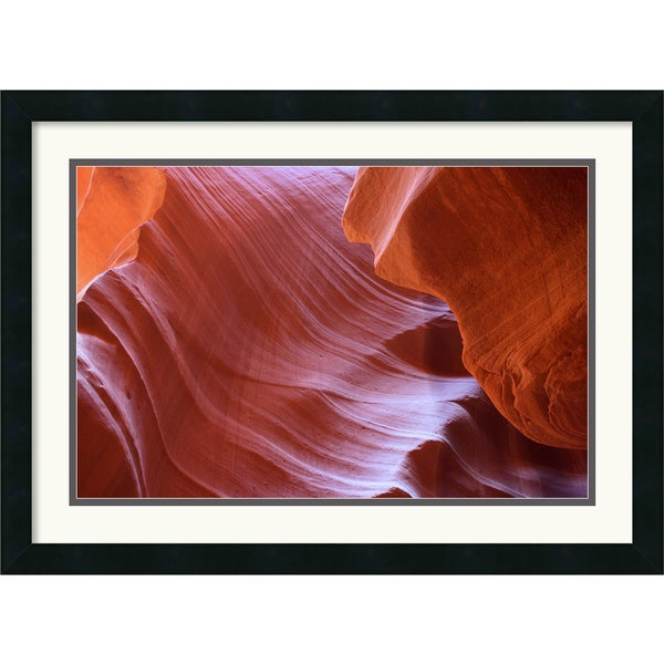 Andy Magee 'Antelope Canyon Abstraction' Framed Art Print