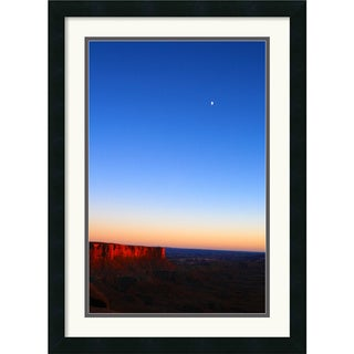 Andy Magee 'Moon Over Canyonlands' Framed Art Print