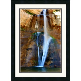 Andy Magee 'Lower Calf Creek Falls' Framed Art Print