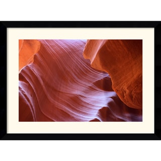 Andy Magee 'Antelope Canyon Abstraction' Framed Photography Art Print