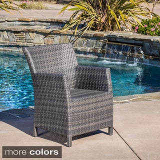 Christopher Knight Home Dawn Outdoor Grey, Brown Wicker Chair