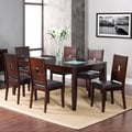 American Lifestyles 7-piece Lakeside Extension Dining Table Set
