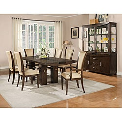 American Lifestyles 7-piece Britany Extension Dining Set