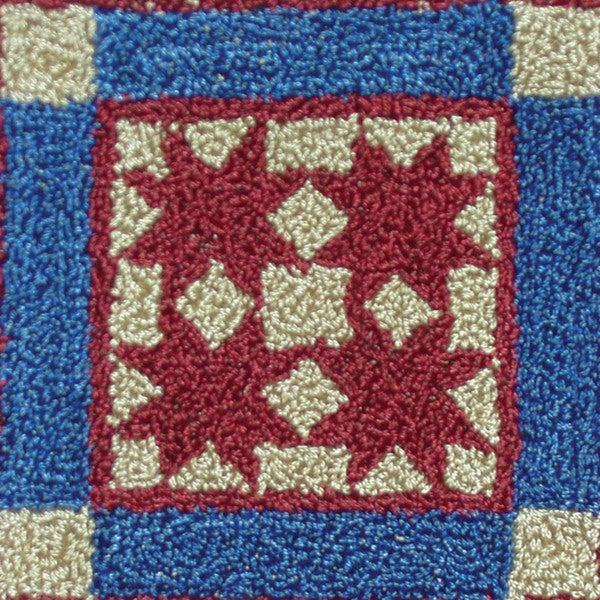 "Tiny Stars Punch Needle Kit-2-1/2""X2-1/2in"