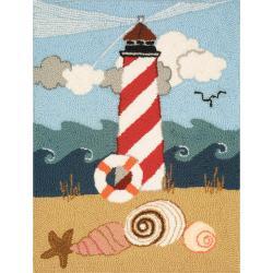 "Heritage Rug Hooking Kit 20""X27""-Lighthouse"