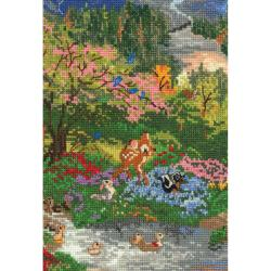 "Disney Dreams Collection By Thomas Kinkade Bambi-5""X7"" 16 Count"