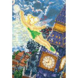 "Disney Dreams Collection By Thomas Kinkade Tinker Bell-5""X7"" 18 Count"