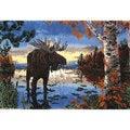 Autumn Moose Latch Hook Kit