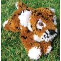 Huggables Tiger Stuffed Toy Latch Hook Kit