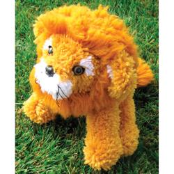 Huggables Lion Stuffed Toy Latch Hook Kit