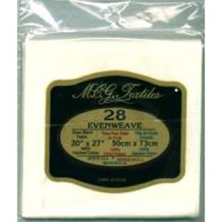 """Evenweave Fabric 28 Count 20""""X27""""-White"""