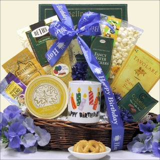 Birthday Wishes Gourmet Gift Basket