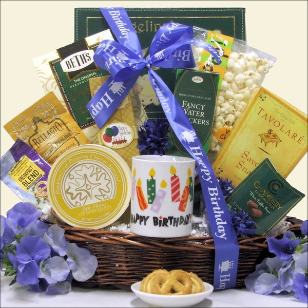 Great Arrivals Birthday Wishes Gourmet Gift Basket