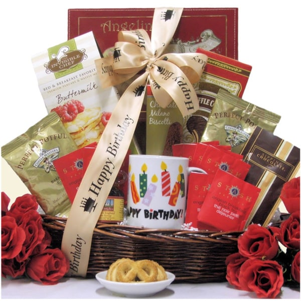 Great Arrivals Rise & Shine On Your Birthday Gourmet Gift Basket