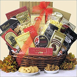 Snack Attack Gourmet Snacks Gift Basket